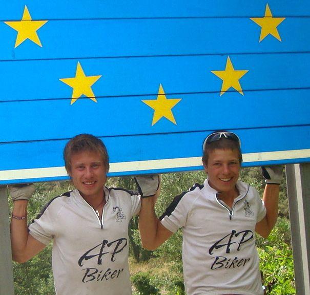 Vincent und Sven Reichert